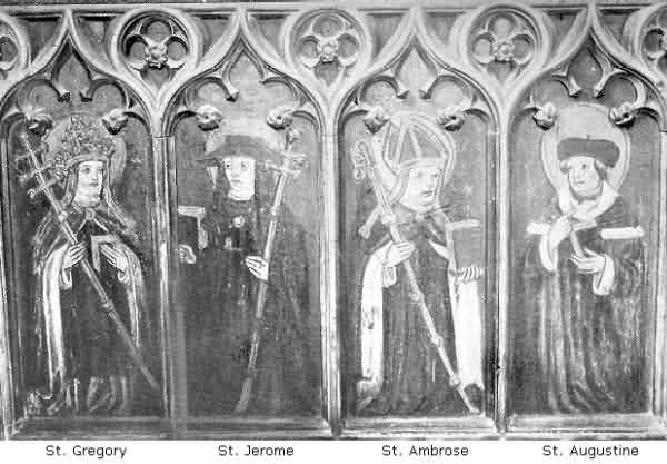Ashton: Paintings on Panels of Rood Screen, 1