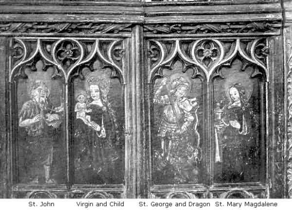 Ashton: Paintings on Panels of Rood Screen, 2