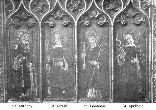 Ashton: Paintings on Panels of Rood Screen, 3