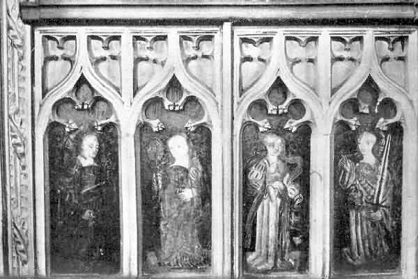 Bradninch: Paintings of Sybils on the Screen