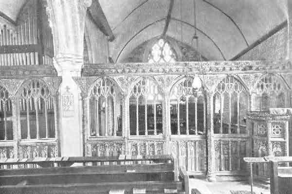 Bridford: Rood Screen