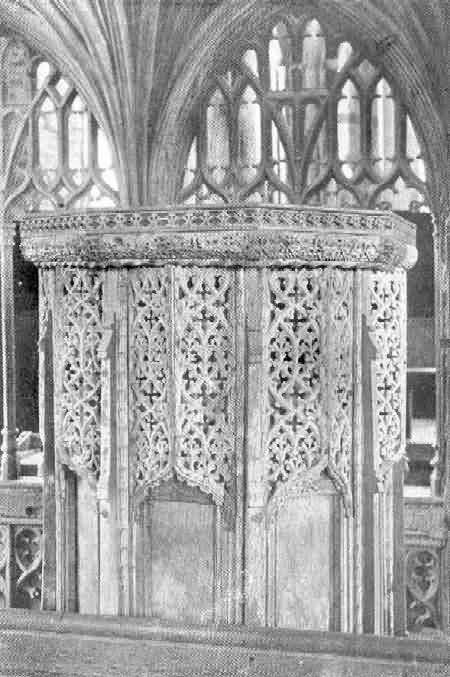 Coleridge: Pulpit