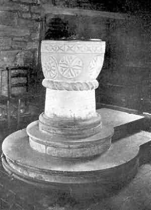 Combe-in-Teignhead: Font