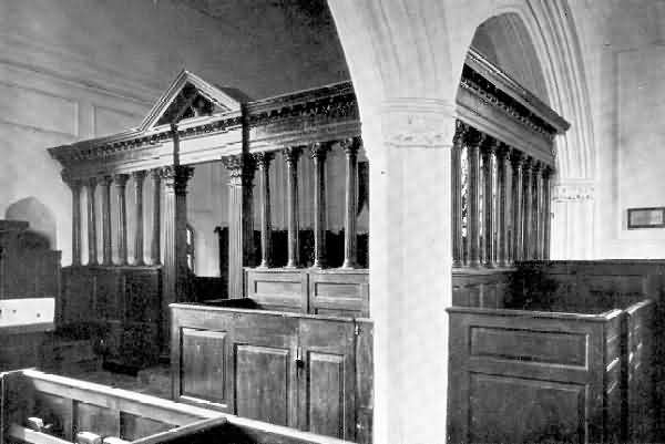 Cruwys Morchard: Rood Screen