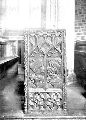 Down St. Mary: Bench-End, 2