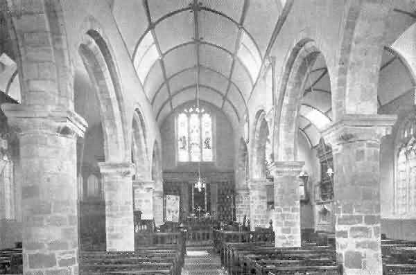 Exeter, St. Mary Arches: Interior