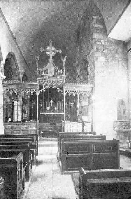 Exeter, St. Olave: Interior