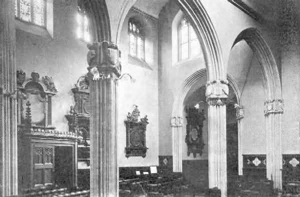 Exeter, St. Petrock: Interior