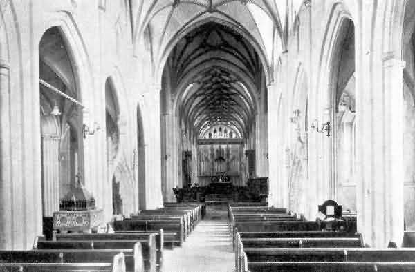 Ottery St. Mary: Interior