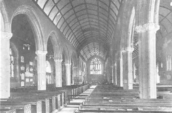 Plymouth, St. Andrew: Interior