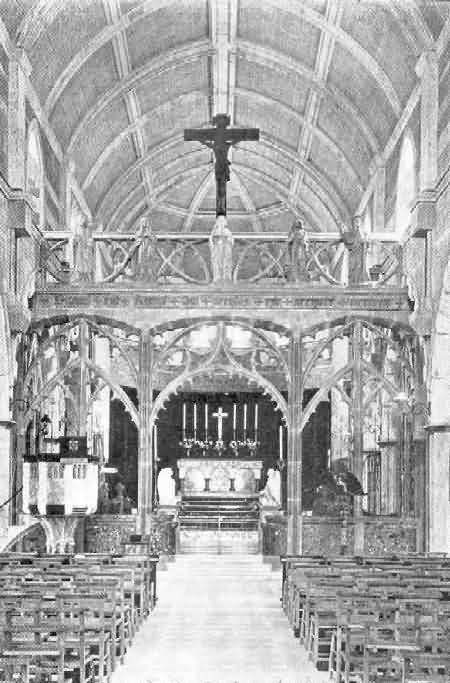 Shaldon, St. Peter: Rood Screen