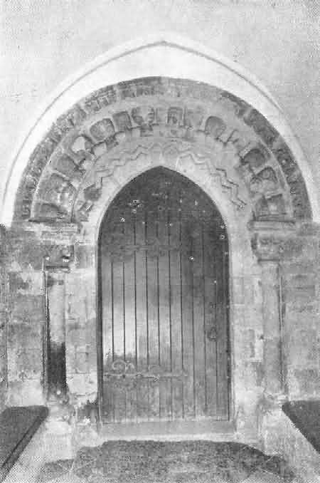 Shebbear: Norman Doorway