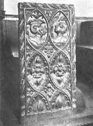 Stockleigh Pomeroy: Bench-End, 1